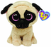 beanie boos pugsly plush they ty's