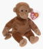 beanie babies bongo monkey another adorable