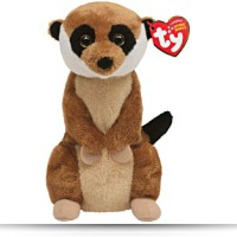 Buy Now Beanie Baby Burrows Meerkat