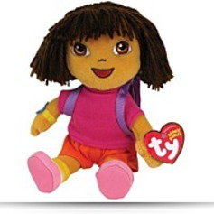 Buy Now Beanie Baby Dora The Explorer