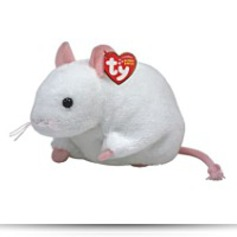 Buy Now Beanie Baby Tiny The Cute White Mouse