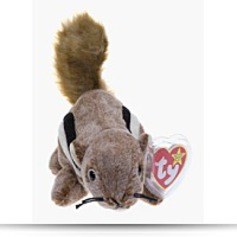 Chipper The Chipmunk Beanie Baby