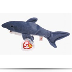 Crunch The Shark Beanie Baby