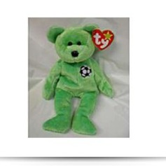 Buy Now Kicks The Soccer Bear Beanie Baby