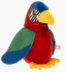 beanie babies jabber parrot colorful character